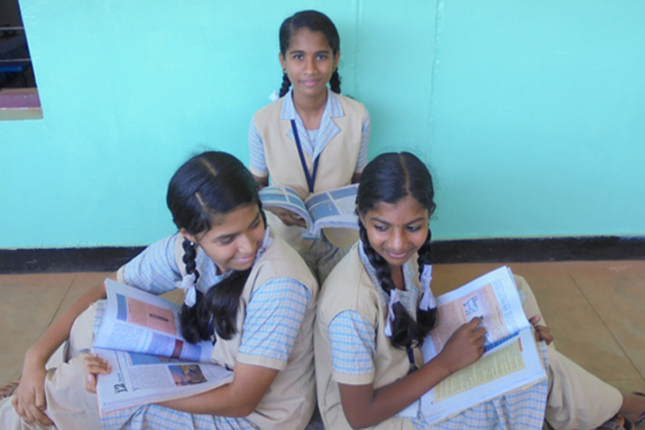 St  Lucy E M School-Students