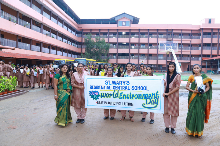 St Marys Residential Central School-World Environment