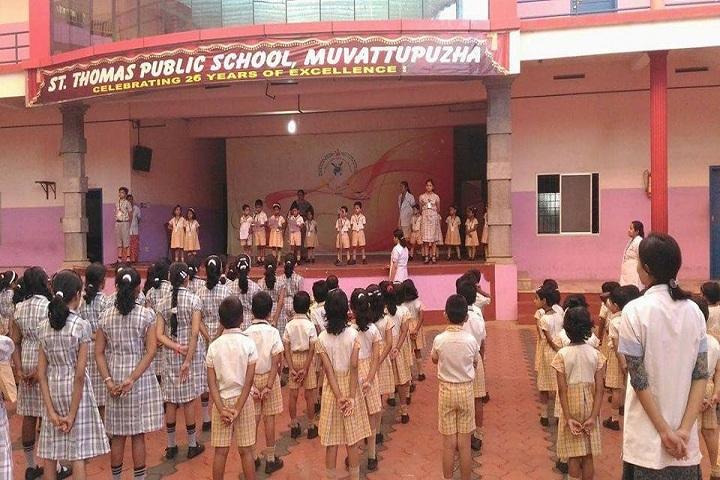 St Thomas Public School-Morning Assembly