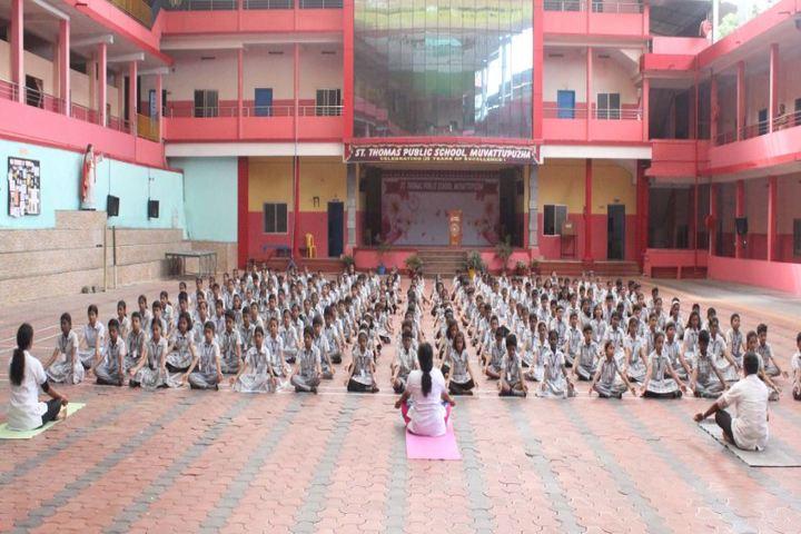 St Thomas Public School-Yoga