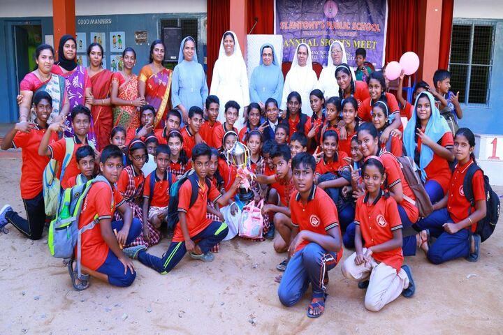 St Antonys  Public School-School Team
