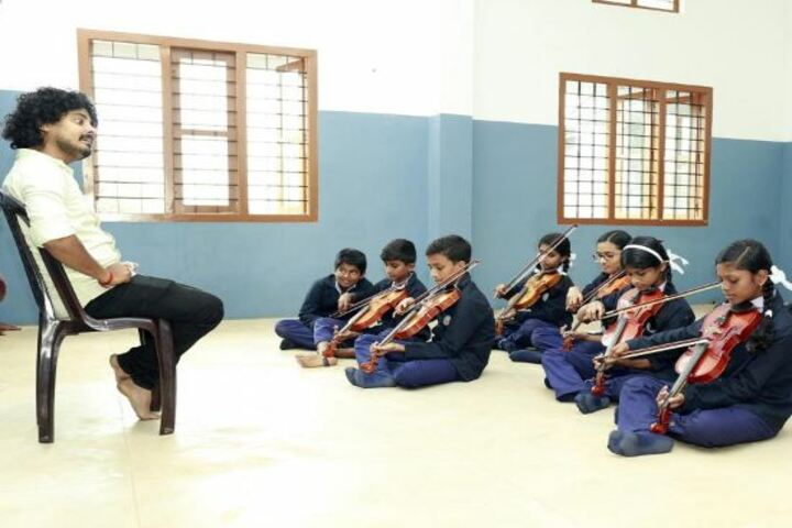 St Dominic Convent English Medium School-Music Class