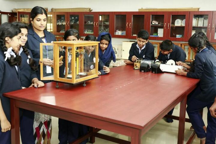 St Dominic Convent English Medium School-Physics Lab