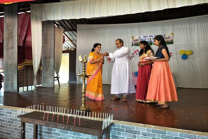 St John The BaptistS English School-Opening Ceremony