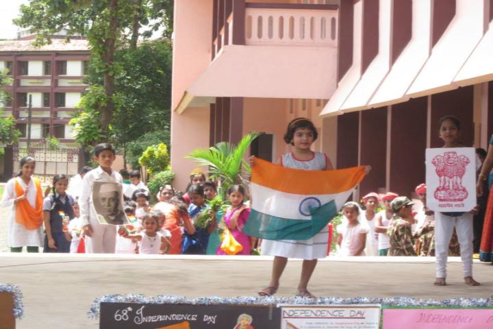 St Joseph Public School-Independence Day Celevbration